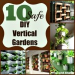 10 Safe DIY Vertical Gardens