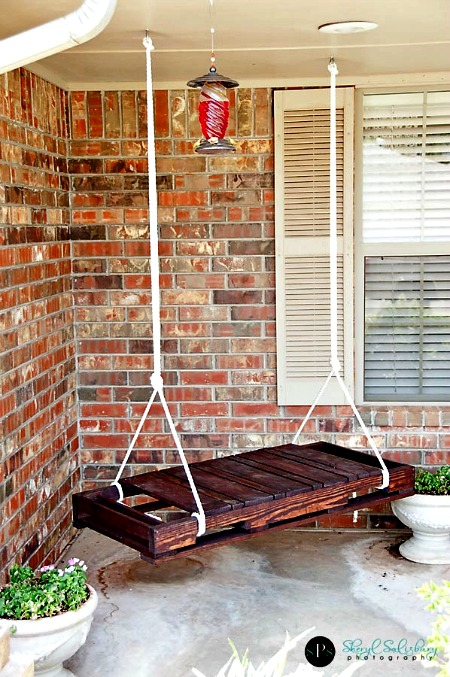 How to Make a DIY Garden Swing