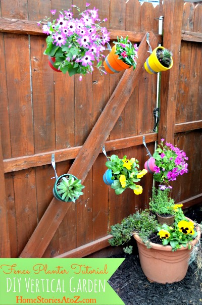 Urban Garden - Do It Yourself Fence Planter