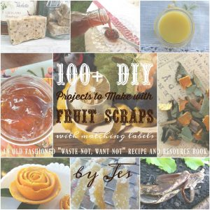 New! ~ ! 100 + DIY Projects to Make with Fruit Scraps