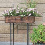 How to Make an Upcycled Suitcase Planter with Gas Pipe Legs